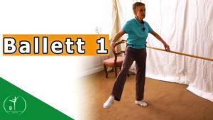 Ballett 1 – Stangentraining im Wohnzimmer