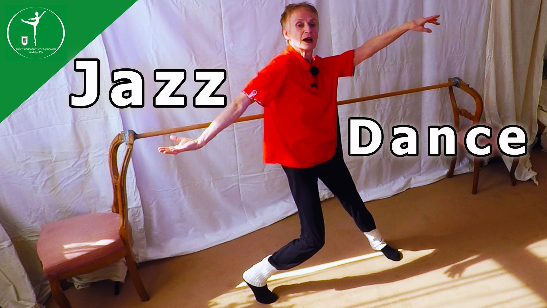 Jazz Dance 1- Ein 12 Minuten Training für mehr Vitalität