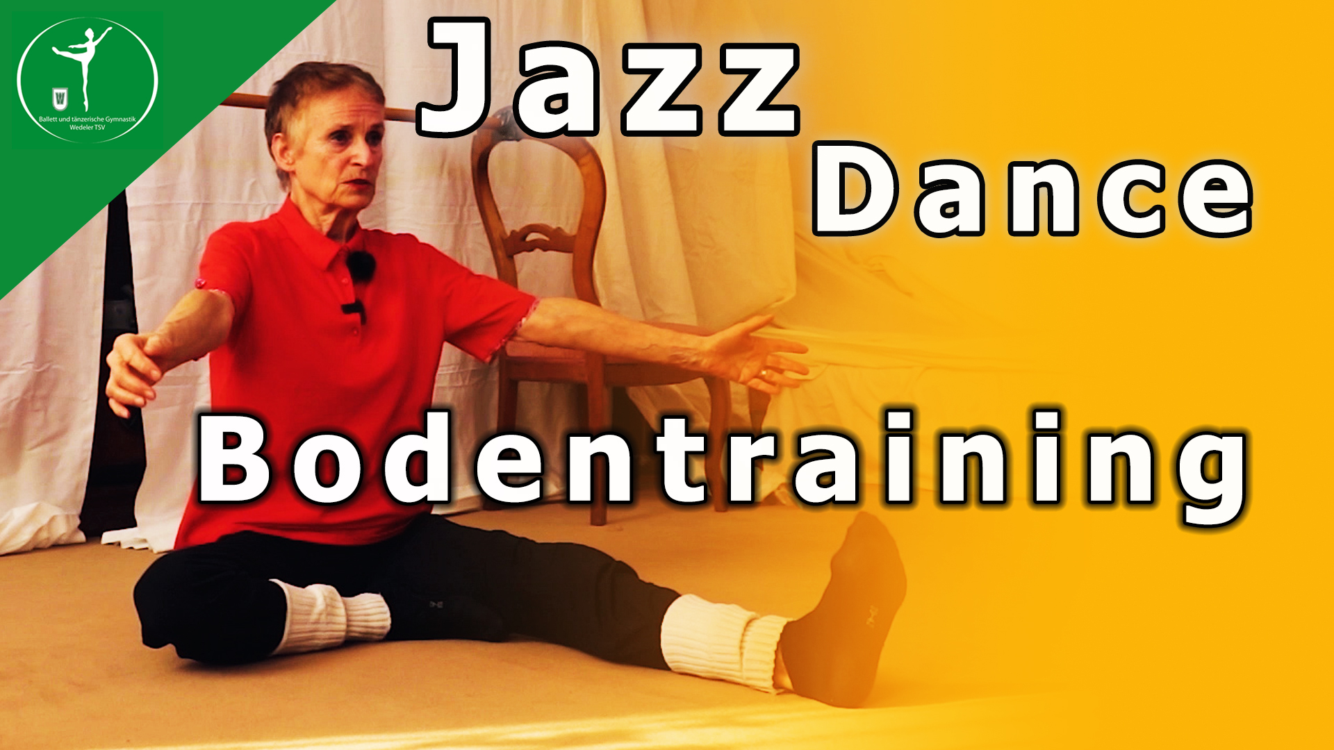 Jazz Dance 2 – Boden Exercise fürs Hometraining