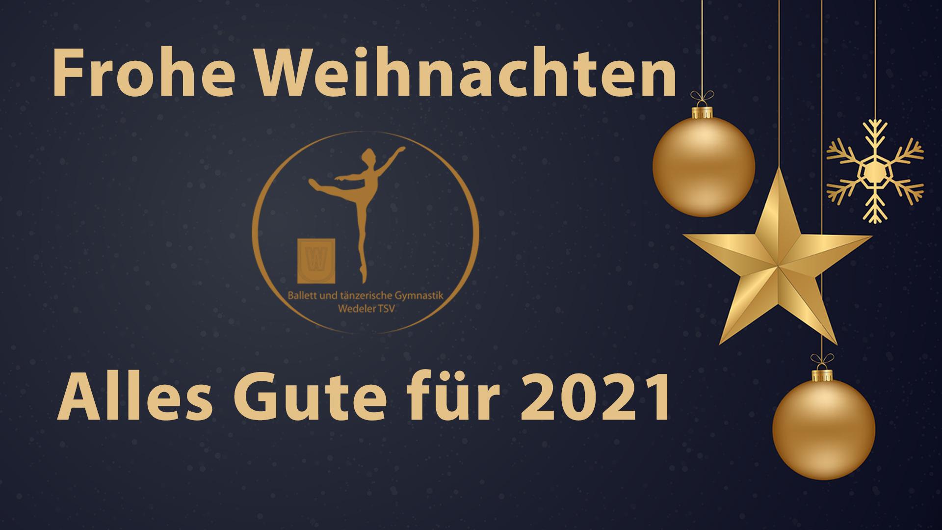 Frohe Weihnachten 2020