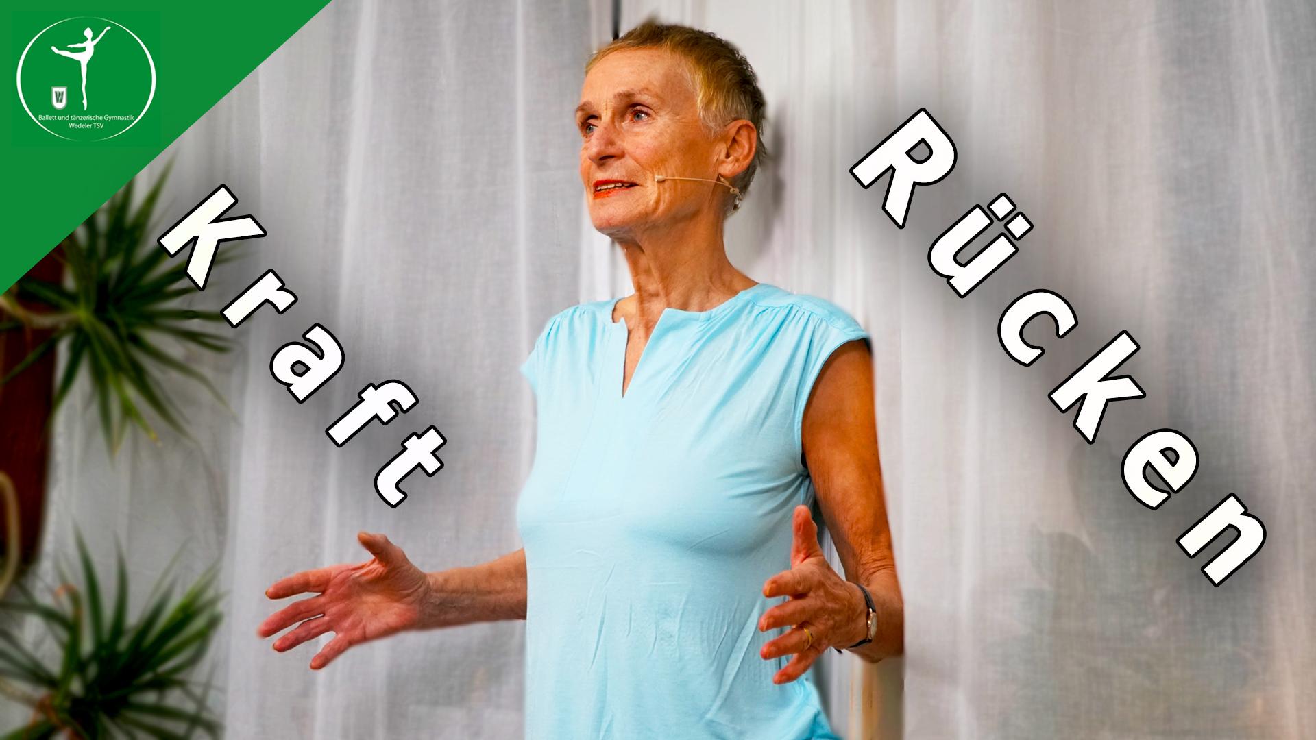 8 Min Rückenkraft u. Flexibilität ohne Geräte
