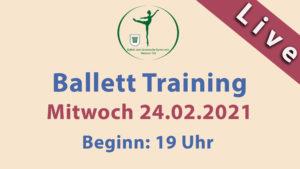 Ballett Livestream | Mi 24.02.2021 | 19 Uhr