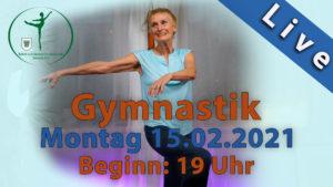 Gymnastik Livestream | Mo 15.02.2021