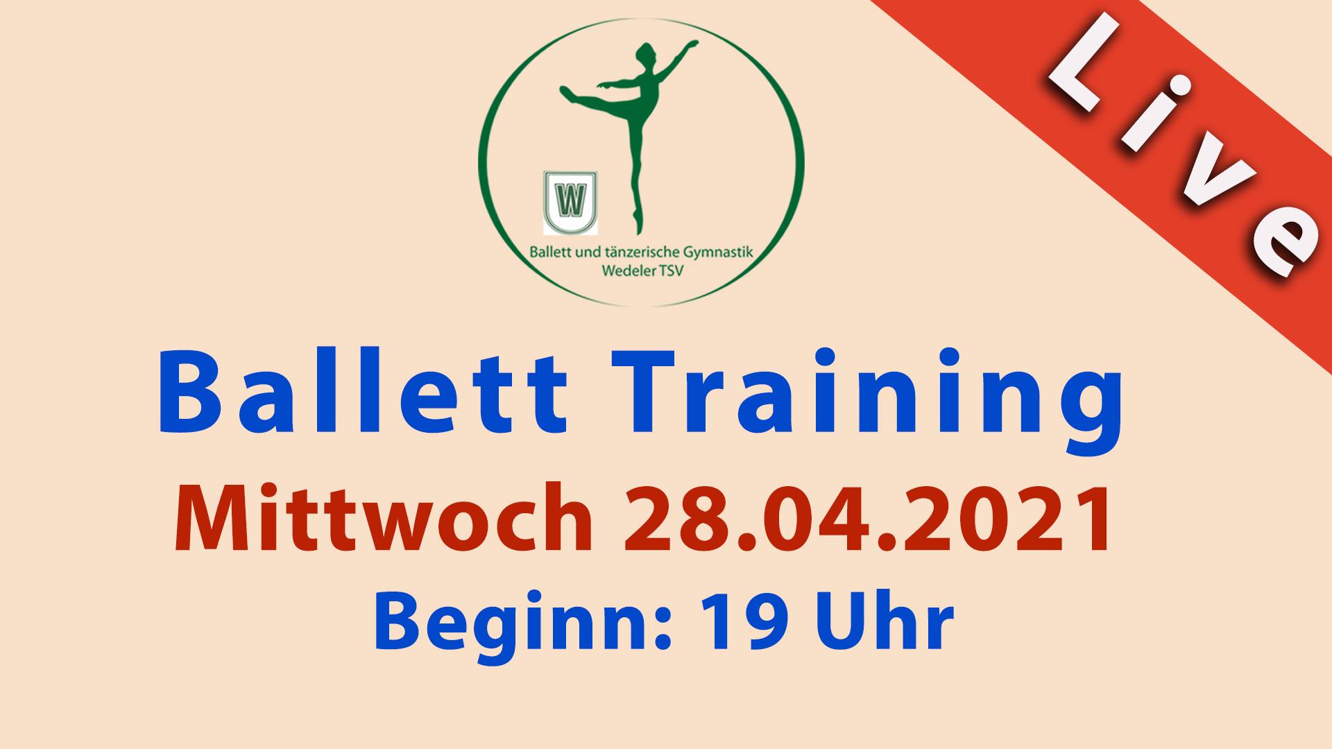 Ballett Livestream | Mi 28.04.2021 | 19 Uhr