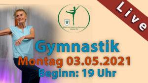 Gymnastik Livestream | Mo 03.05.2021 | 19 Uhr