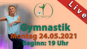 Gymnastik Livestream | Mo 24.05.2021 | 19 Uhr