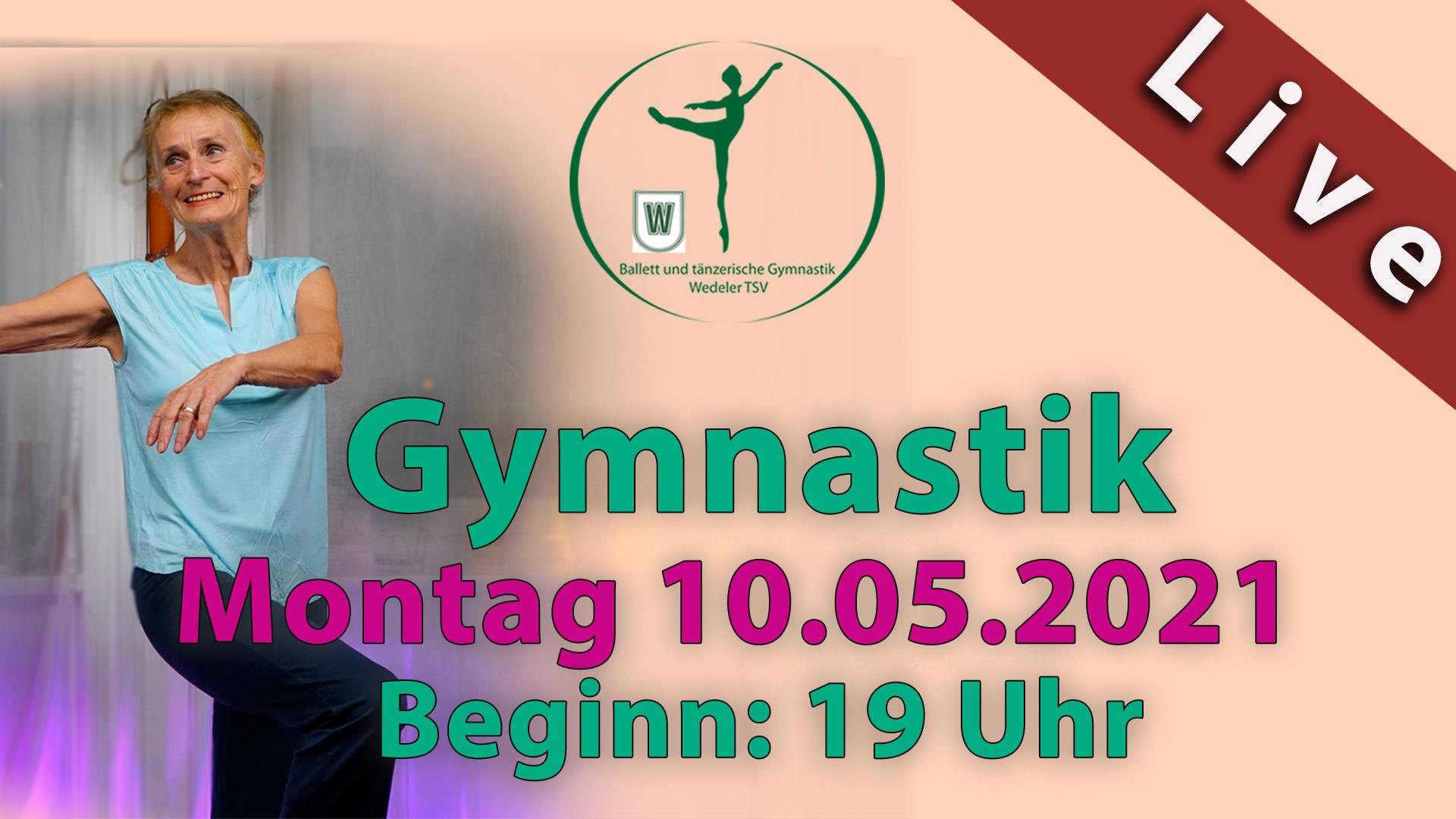 Gymnastik Livestream | Mo 10.05.2021 | 19 Uhr