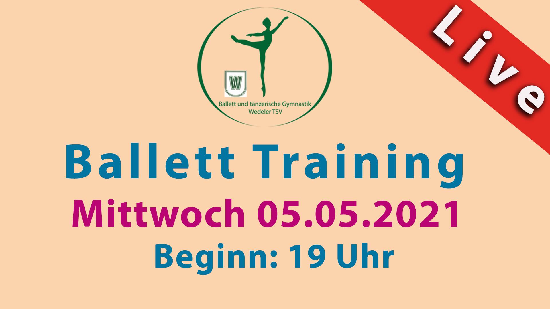 Ballett Livestream | Mi 05.05.2021 | 19 Uhr